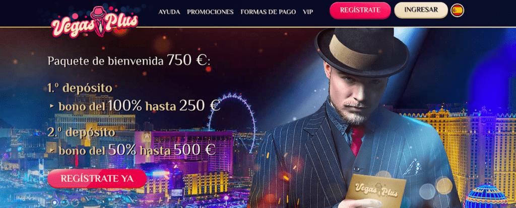 vegasplus promo casino