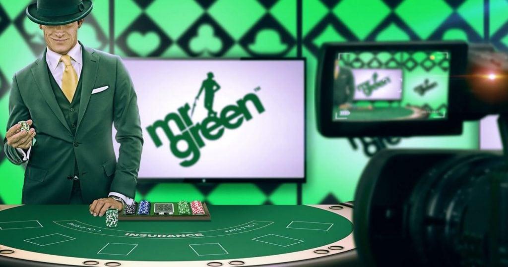 Mr Green bono en directo o live