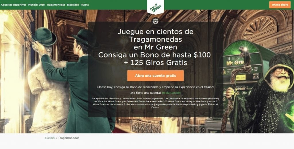 casino argentina Mr Green