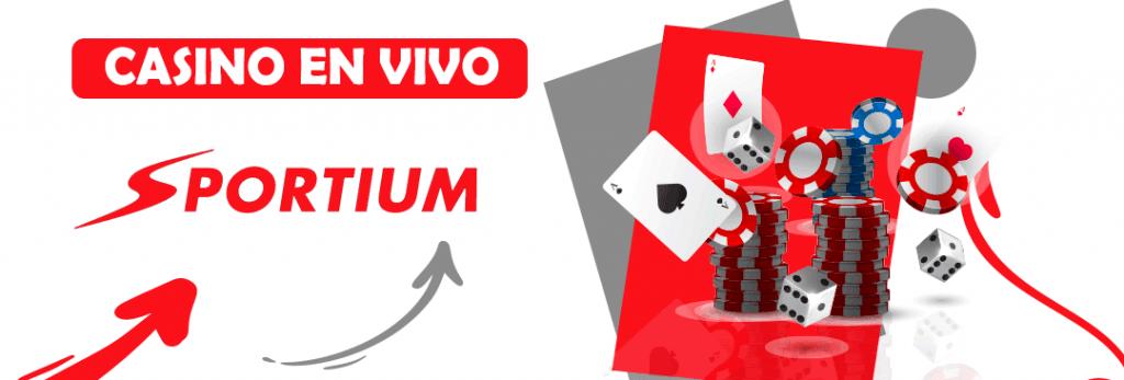 bono del casino en vivo de sportium