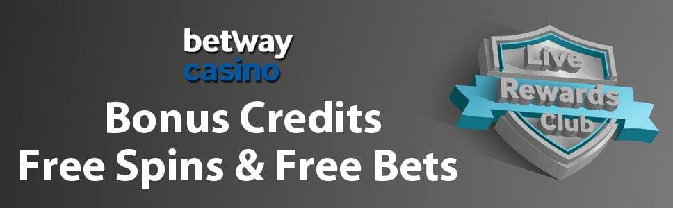 casino rewards betway