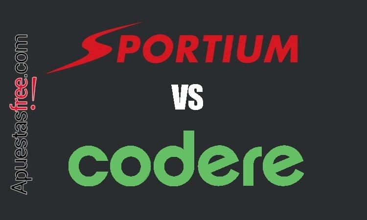 sportium vs codere