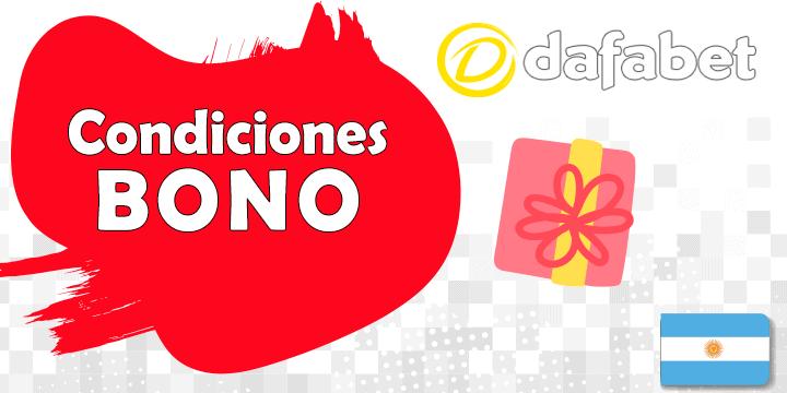 condiciones de los bonos de dafabet en apuestas y argentinos en argentina
