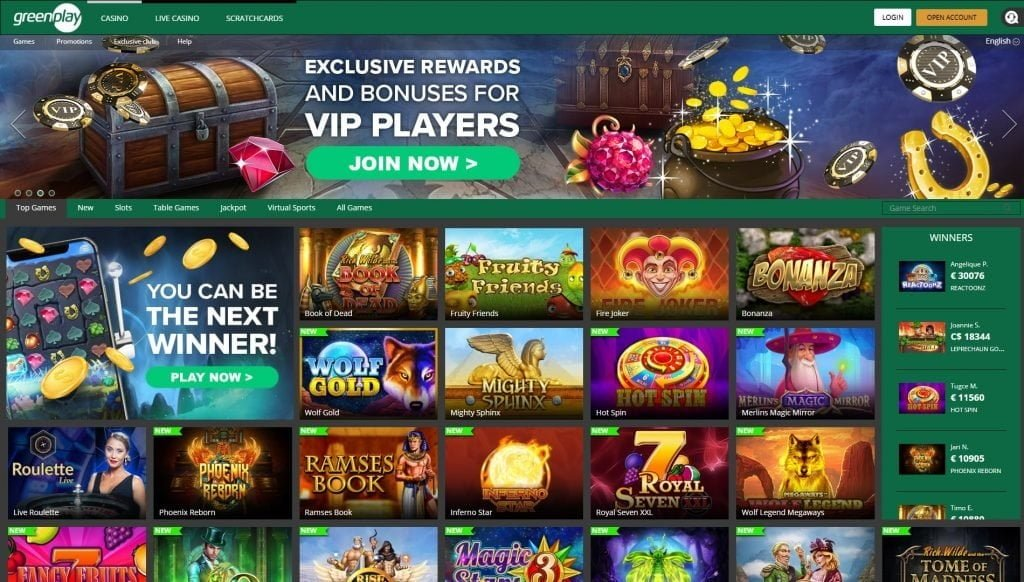 green play casino ofertas