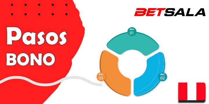 pasos para conseguir el bono de betsala y su codigo promocional en Peru
