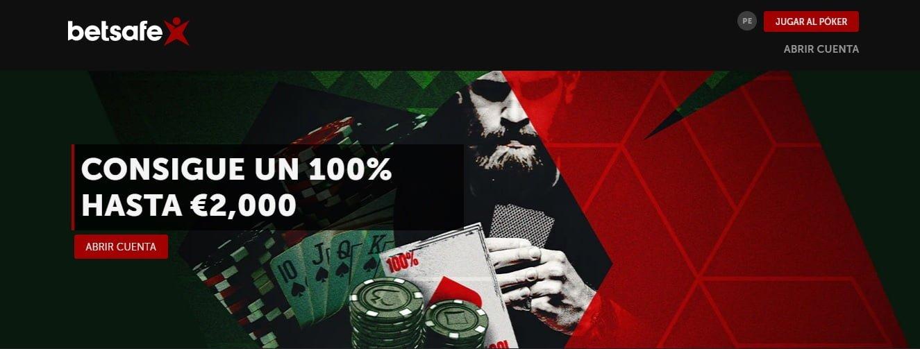 betsafe codigo promocional poker