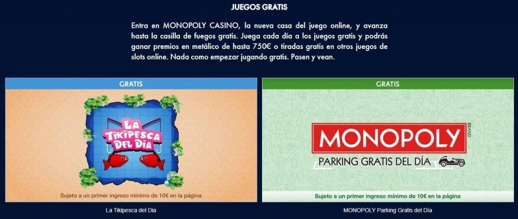 juegos gratis monopoly casino
