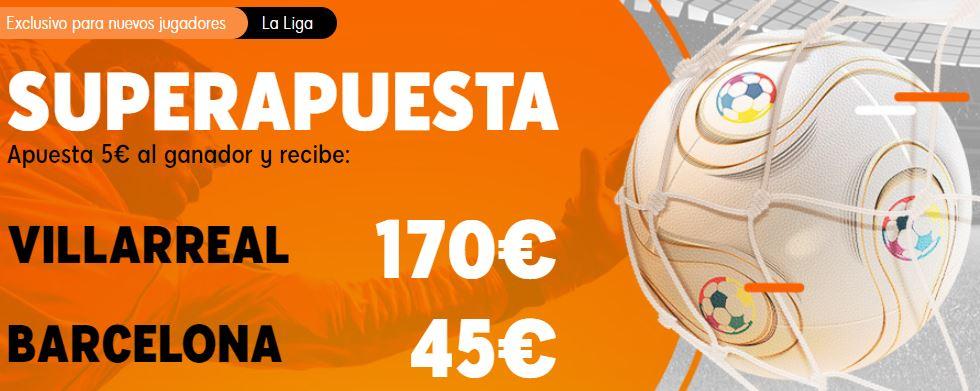 superapuesta villarreal barcelona 888sport