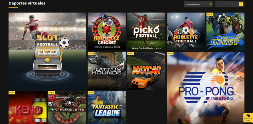 deportes virtuales en betobet