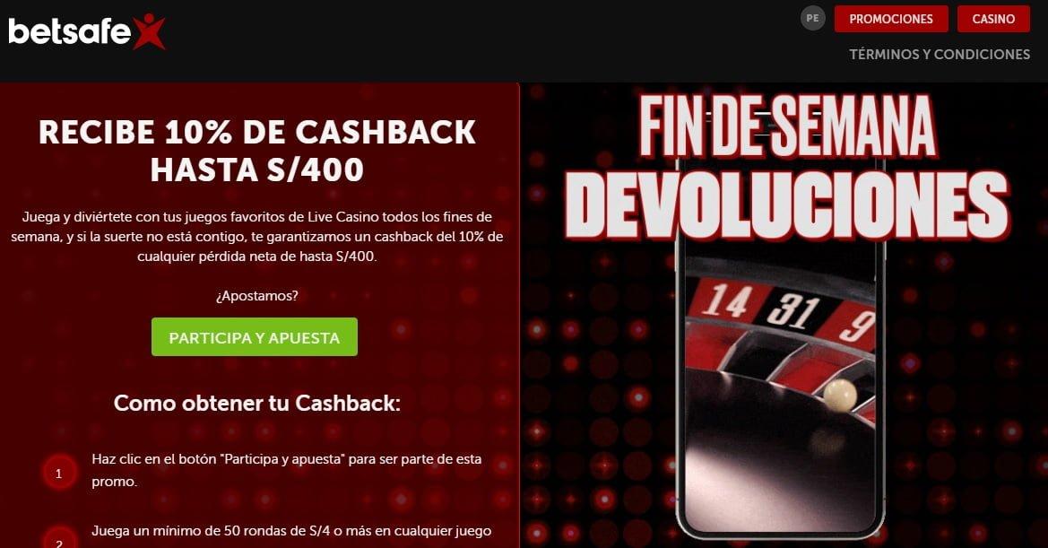 betsafe promo cashback