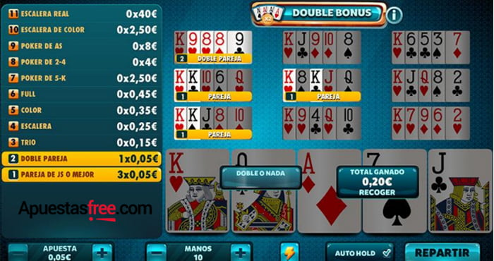 Los mejores juegos de Vídeo Póker están en Casino Pastón