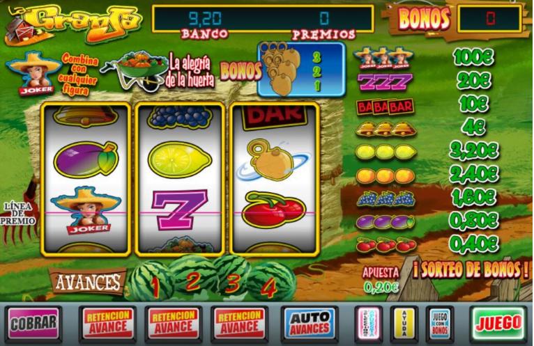 jugar a La granja slot