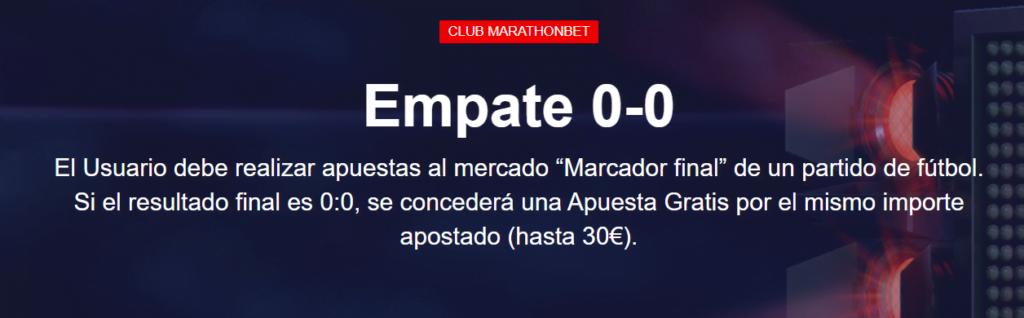 empate 0-0 marathonbet