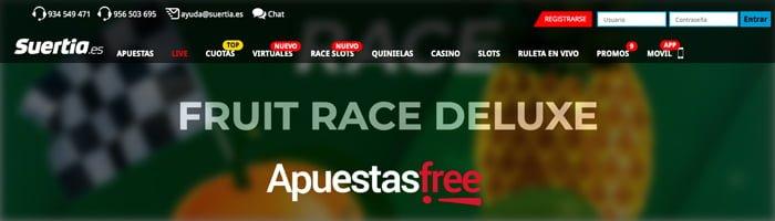 Race Slots de Suertia Casino
