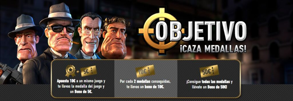 caza medallas sportium casino