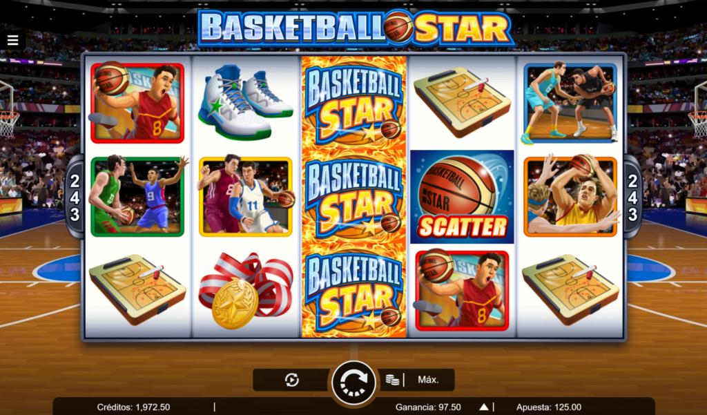 Slot basketball star