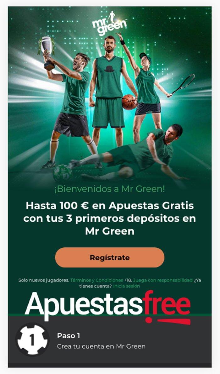 Análisis App Mr Green: todo al verde también en tu móvil