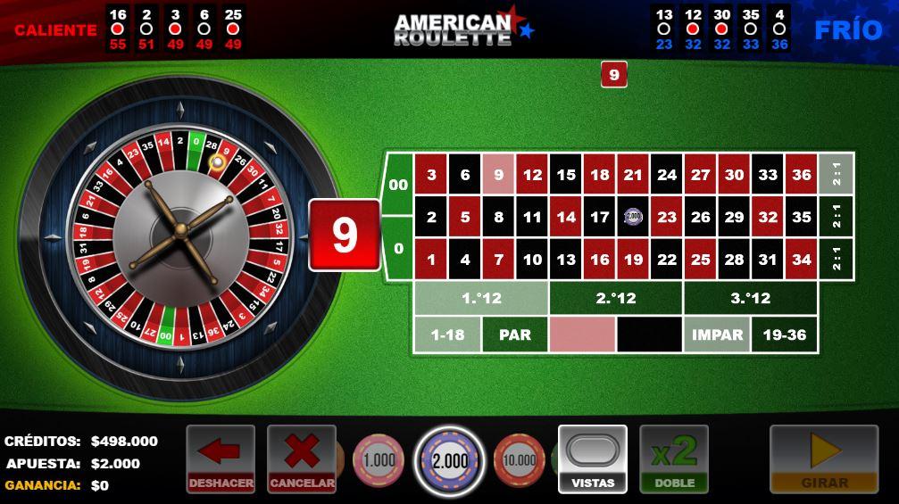 jugar gratis ruleta codere casino