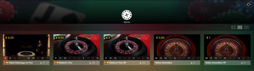 Casino en Vivo EnRacha
