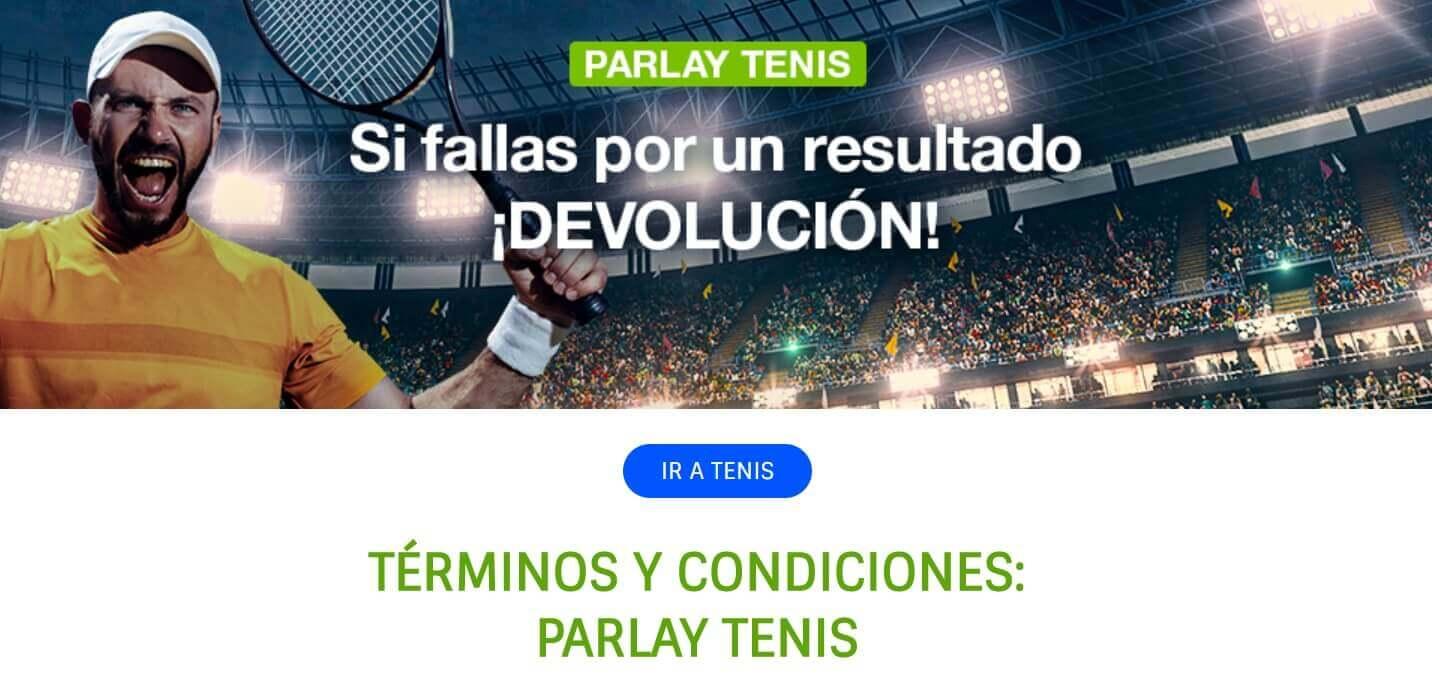 tenis codere codigo promocional
