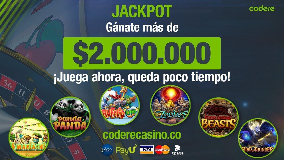 codere 20000000 jackpot