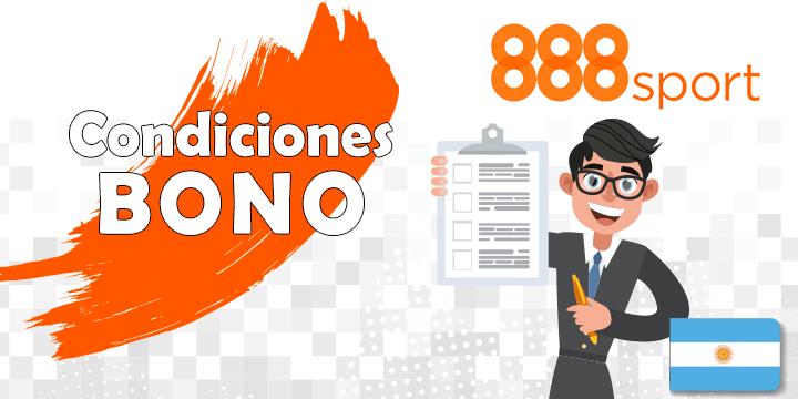 888sport condiciones del bono