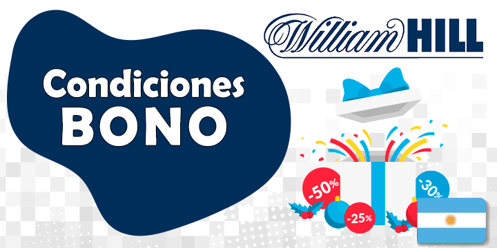 william hill condiciones del bono