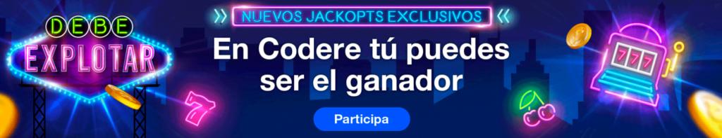 jackpot codere