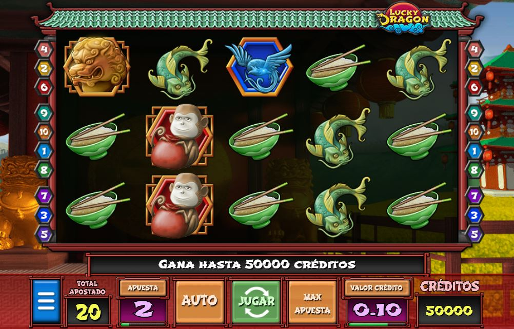 lucky dragon jugar gratis