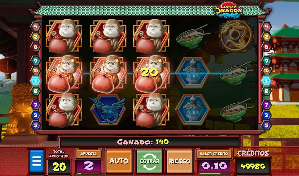 jugar gratis lucky dragon codere