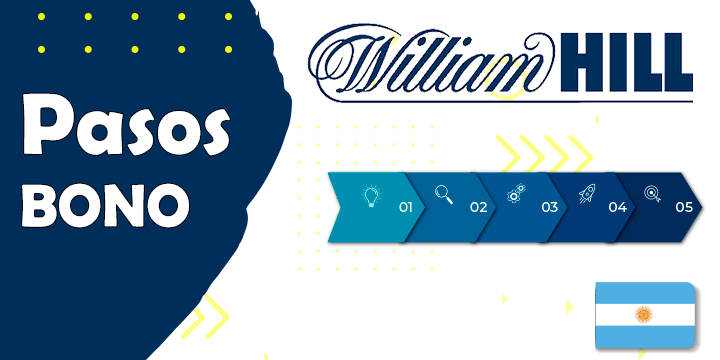 william hill pasos para conseguir el bono