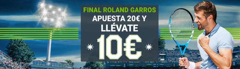 final roland garros codere