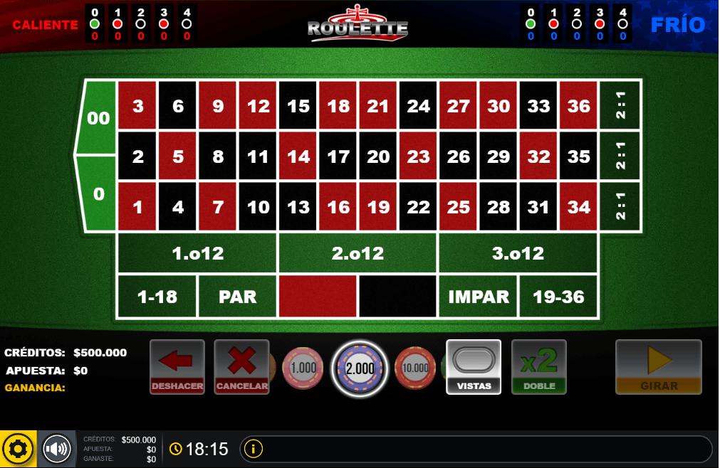 roulette codere