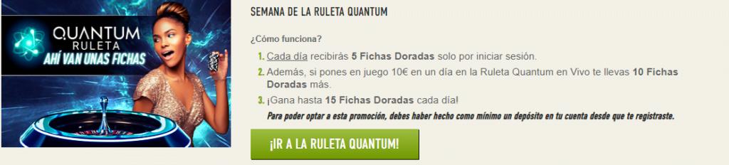 ruleta quantum sportium
