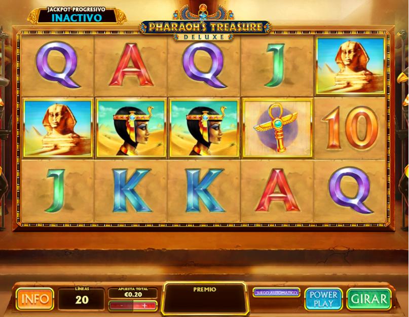 pharaohs treasure deluxe codere