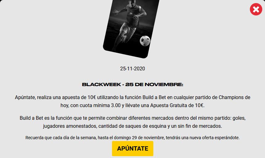 BlackWeek 25