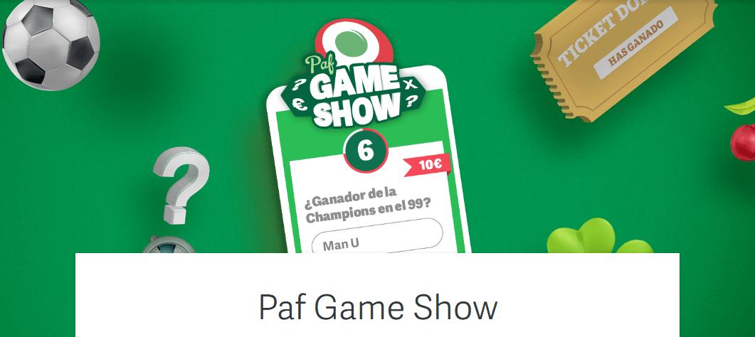Game Show miércoles