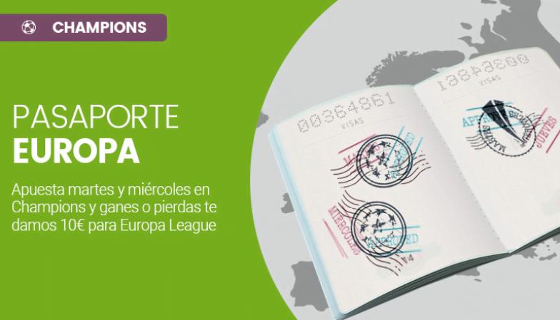 Pasaporte Europa