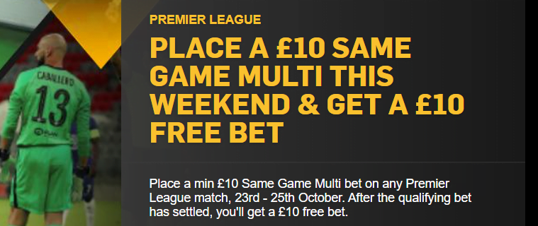 Betfair other promotions