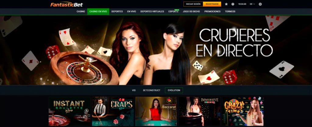 bono casino y tragamonedas de fantasticbet en chile