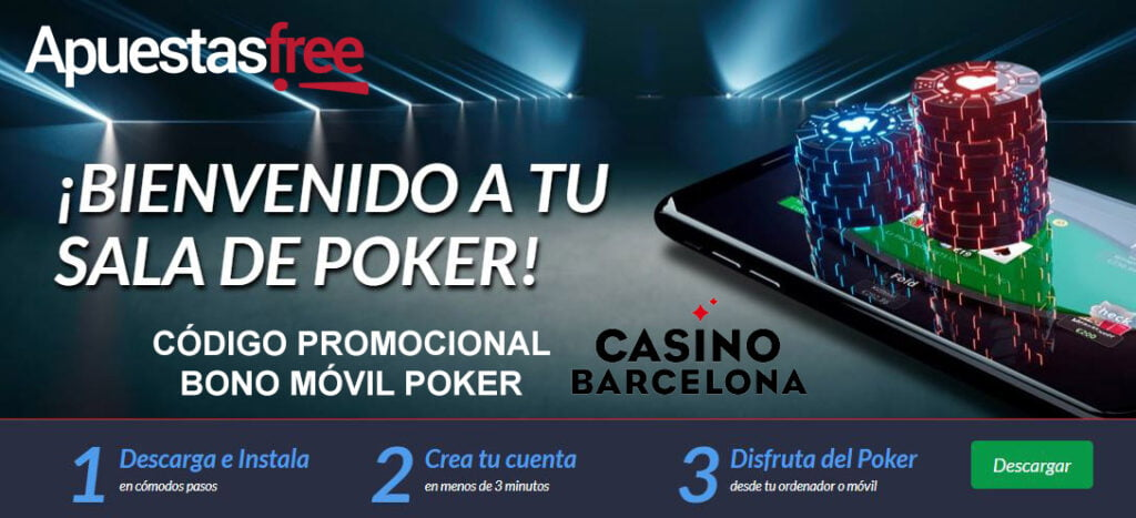 códigos poker de casinobarcelona