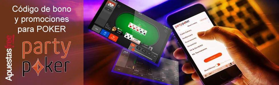 códigos poker de partypoker