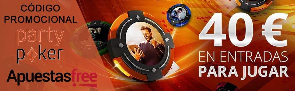 codigos promocionales poker de partypoker