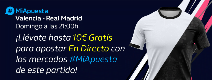 #Miapuesta valencia real madrid william Hill