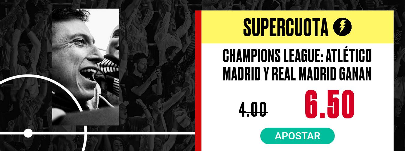 Real Madrid y Atlético ganan