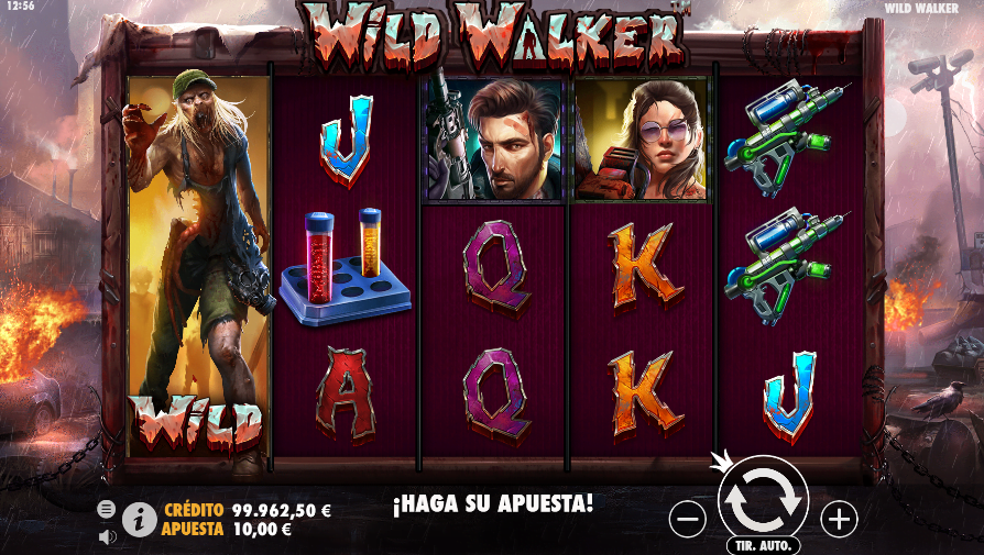 slot wild walker casino gran madrid