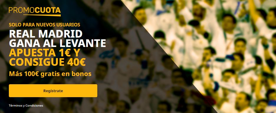 promocuota madrid levante betfair