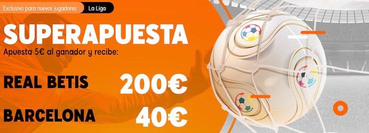 Superapuesta 888sport Betis Barcelona