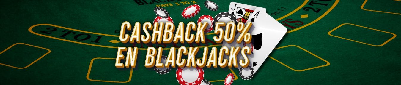Cashback Blackjacks