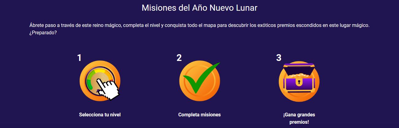 Misiones Año Nuevo Lunar